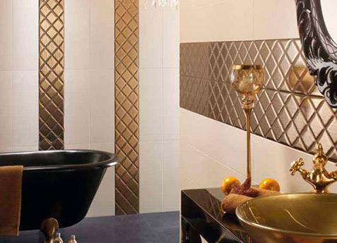 ceramica dorada
