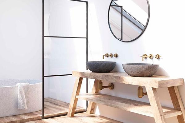 ideas de decoración para baño