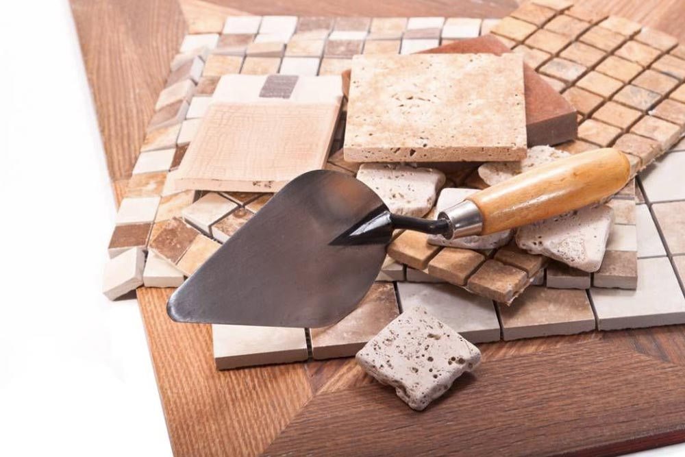 herramientas azulejos y baldosas